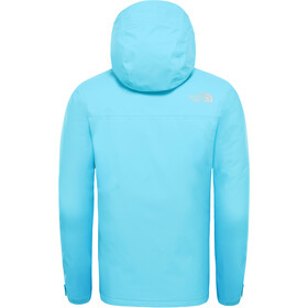 The North Face Snow Quest Takki Tytöt, turquoise blue